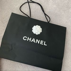 Authentic Chanel shopping bag